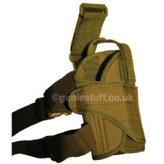 Green Right Leg Holster for Airsoft Pistols